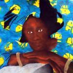 La femme en kente