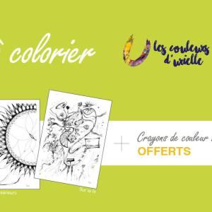 Cartes d'art à colorier
