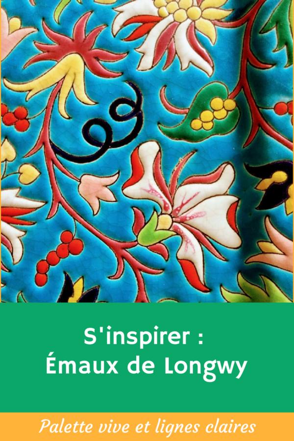 Peindre un tableau en s'inspirant des Émaux de Longwy