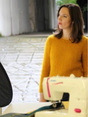 Caroline Manouvrier, Tapissier Décorateur reconvertie