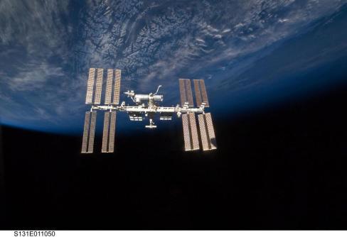 afin de rejoindre l'ISS et s'y amarrer pour la ravitailler
