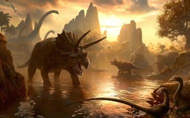 derniers instants des dinosaures