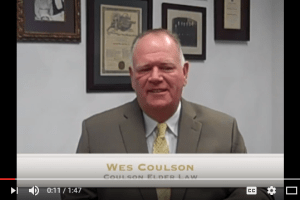 Wes Coulson discusses a common estate planning mistake and the problems and expenses involved when failing to plan properly for minor beneficiaries. I Coulson Elder Law
