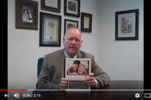 Wes Coulson discusses Alzheimer's and the planning opportunity the diagnosis presents relative to the five-year look-back period. l Coulson Elder Law
