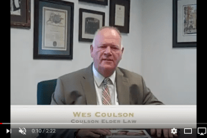 Wes Coulson discusses another topic covered inThe Alzheimer's Guide: Practical Advice for Families, Caregivers and Professionals and explains why the Medicare Five-Star Ratings system may not be the best, as the only criteria, to use when looking for a nursing home for your loved one. l Coulson Elder Law
