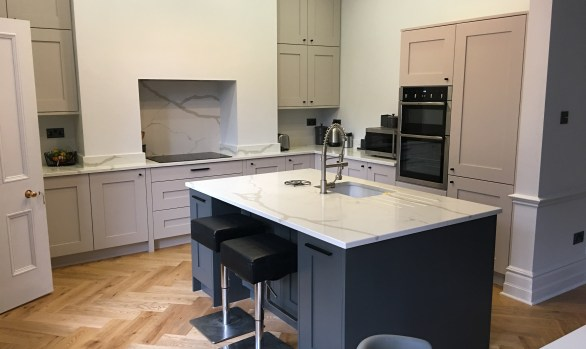 Luxury Fitted Painted Kitchen in Ilkley
