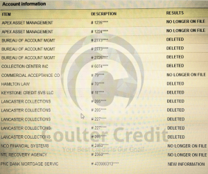 Real Credit Repair Results 4
