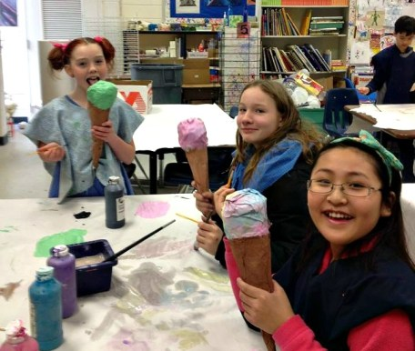 Elementary Art Students - Georgia