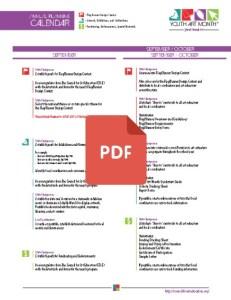 3 - Getting Involved - Annual Planning Calendar 2016 pdf