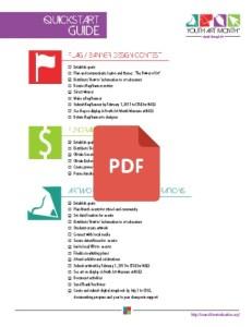 3 - Getting Involved - Quickstart Guide 2016 pdf