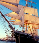 The Maritime Museum Association received $192, 794 for the replacement of the Sailing Ship Star of India's weather decks in the last round of grants. Photo courtesy of Maritime Museum Association of San Diego