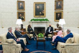 This image has an empty alt attribute; its file name is President_Joe_Biden_and_Vice_President_Kamala_Harris_meet_with_a_bipartisan_group_of_Congressional_Leaders-1024x683.jpg