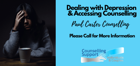 Dealing with depression and accessing counselling