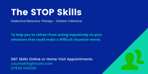 STOP Skills Counselling Lincoln