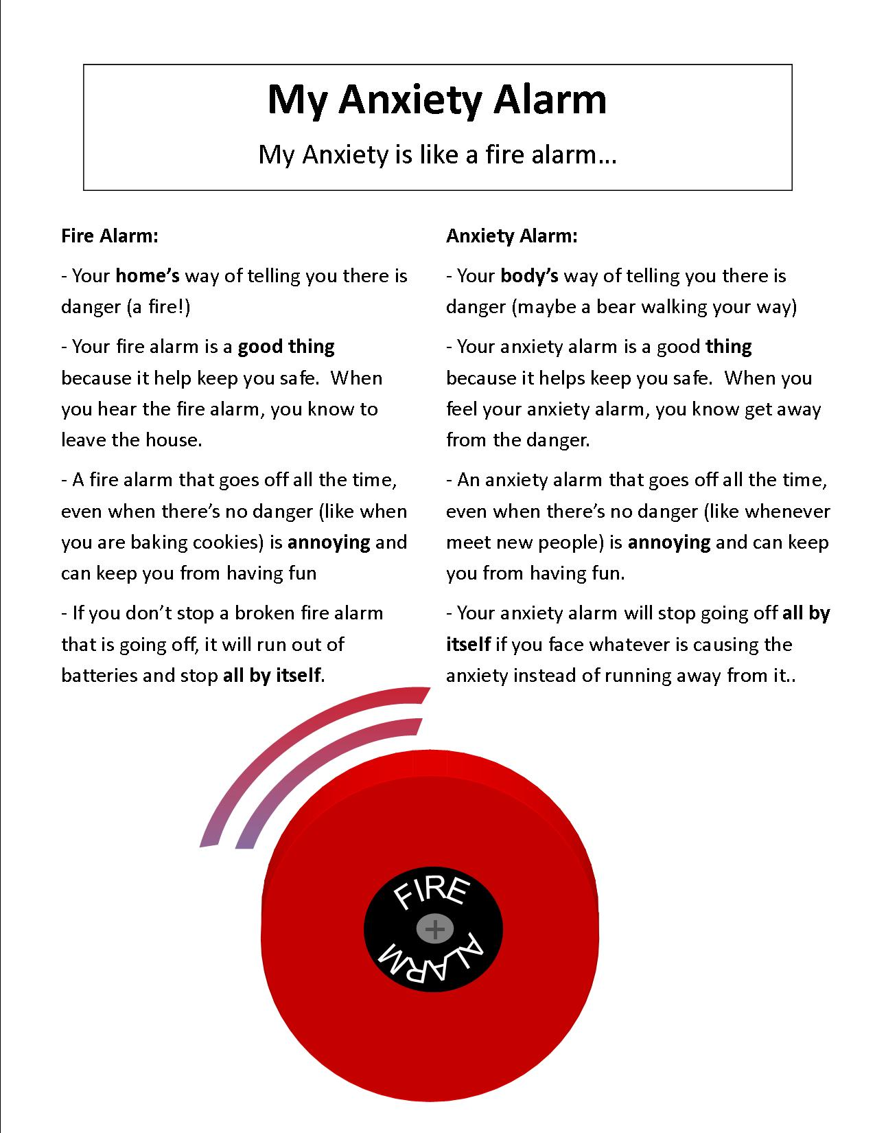 Printables Anxiety Worksheets For Children Tempojs