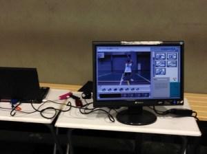 野球フォーム動作解析、連続写真、カウント23