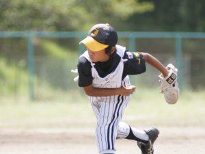 少年野球の送球