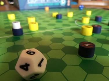 close-up dice