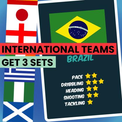 International Teams - set of 3