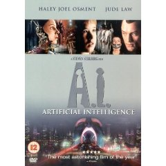 Artificial Intelligence DVD cover