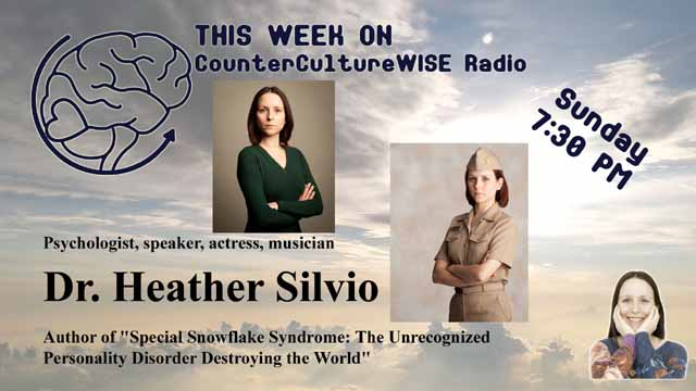 Dr. Heather Silvio on CounterCultureWISE radio