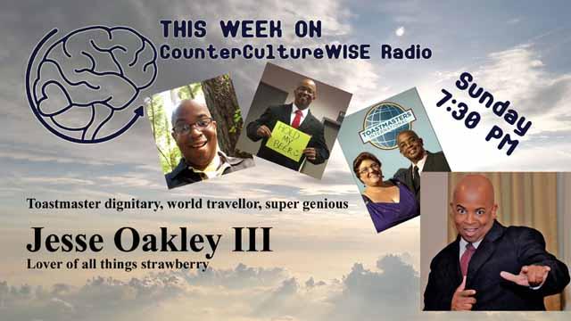 Jesse Oakley III on CounterCulturWISE Radio