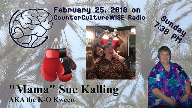 Mama Sue Kalling on CCW Radio!
