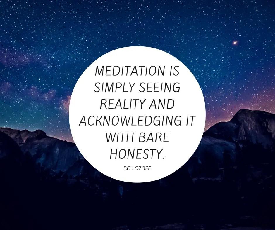 bo lozoff meditation quote