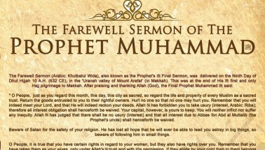 The Farewell Sermon of Prophet Muhammad – Countercurrents