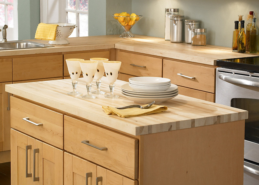 Maple Butcher Block Countertops Buying Guide - Countertops FAQ on Maple Countertops id=44096