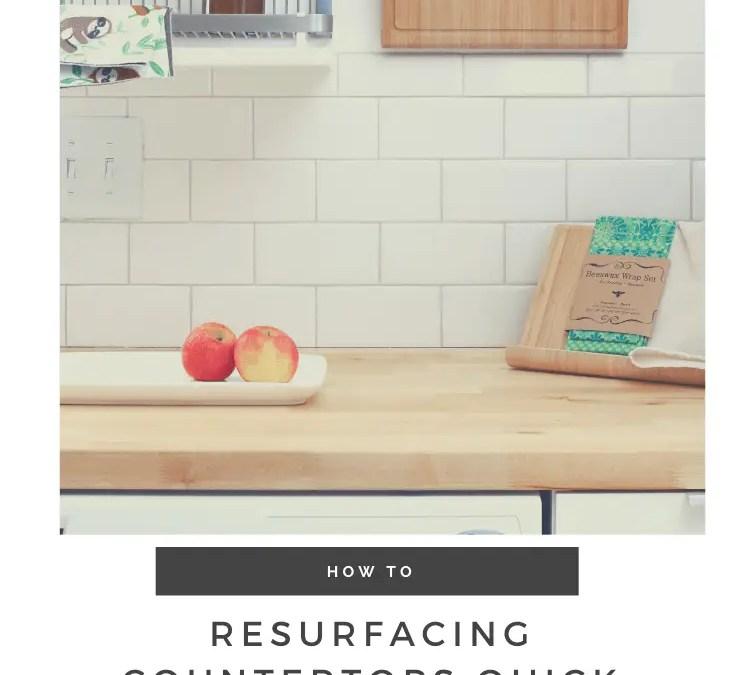 Resurfacing Countertops