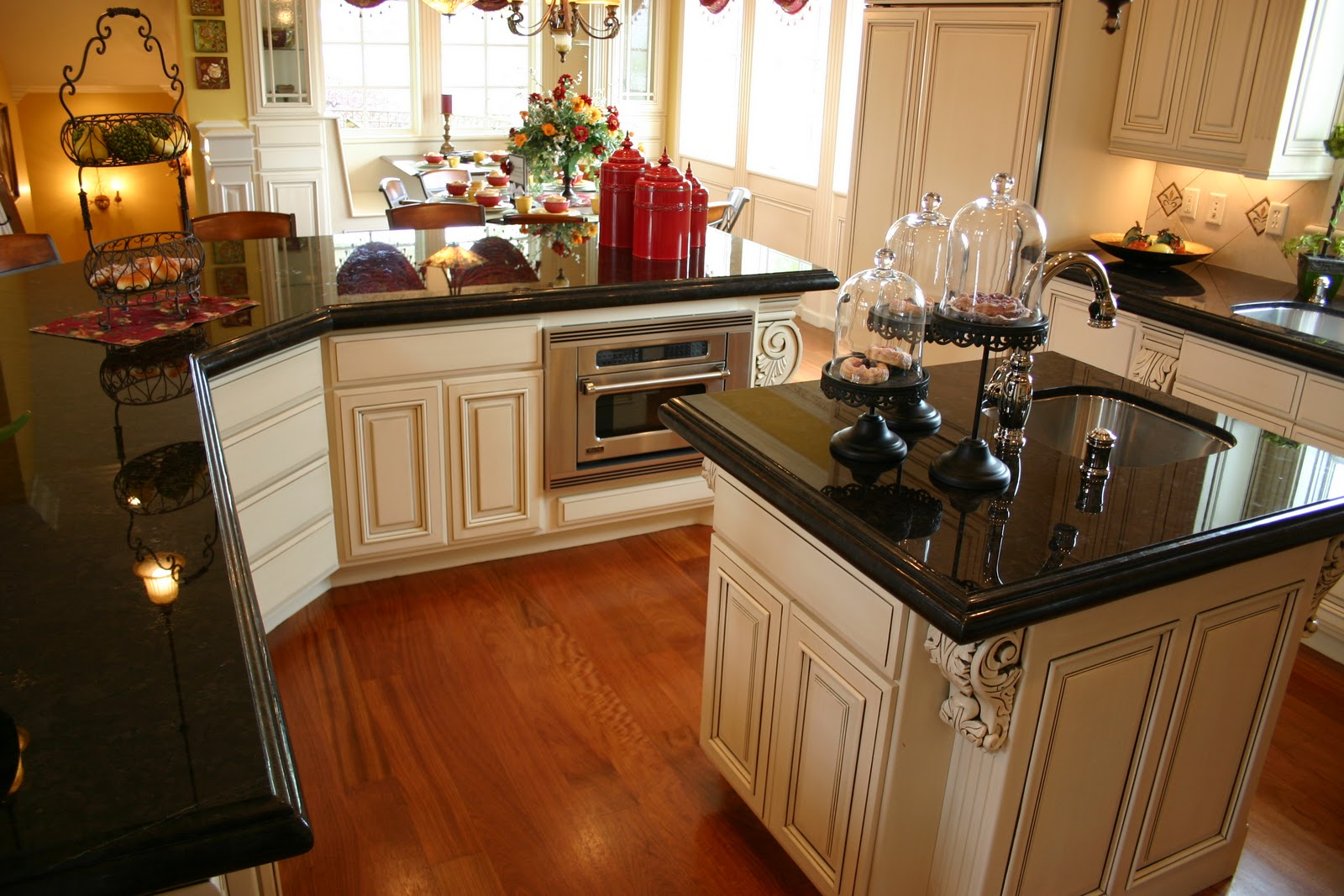 Absolute Black Granite Price Per Square Foot & Decorating ... on Dark Granite Countertops With Dark Cabinets  id=62934