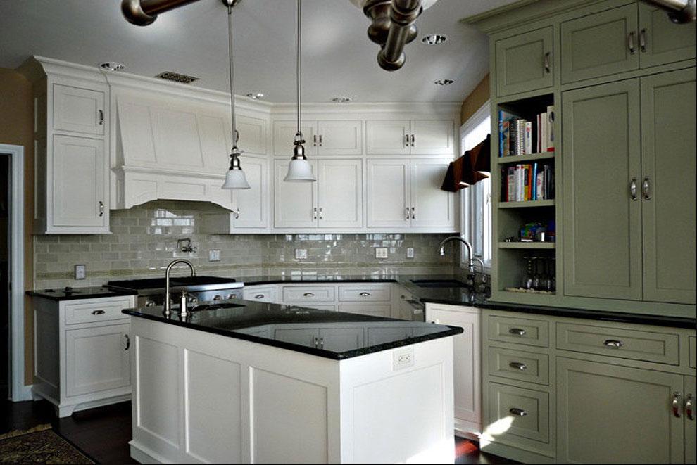 36+ Fabulous Black Granite Countertops Design Ideas on Black Granite Backsplash  id=50496