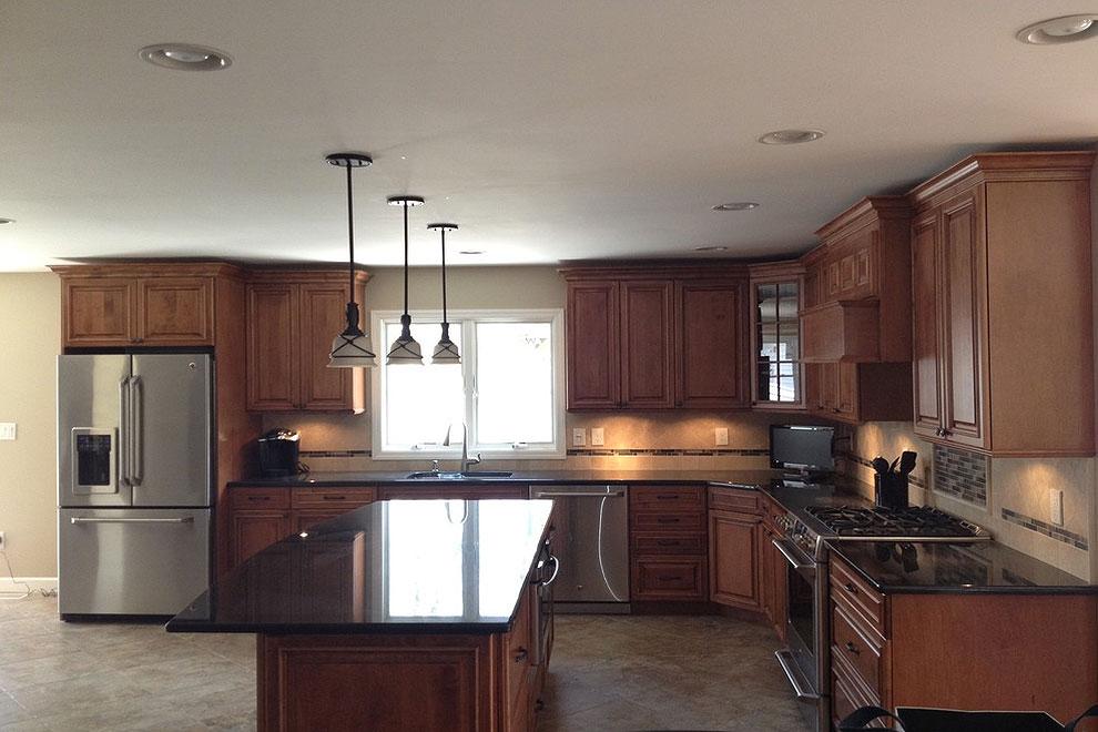 36+ Fabulous Black Granite Countertops Design Ideas on Kitchens With Black Granite Countertops  id=63773