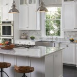 46 White Marble Kitchen Countertops Design Ideas
