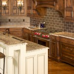 50 Popular Brown Granite Kitchen Countertops Design Ideas
