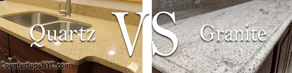 Quartz Countertop VS Granite Countertop – Countertops NYC