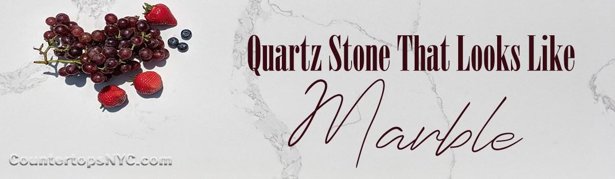 White Quartz Stone Countertops That Look Like Marble