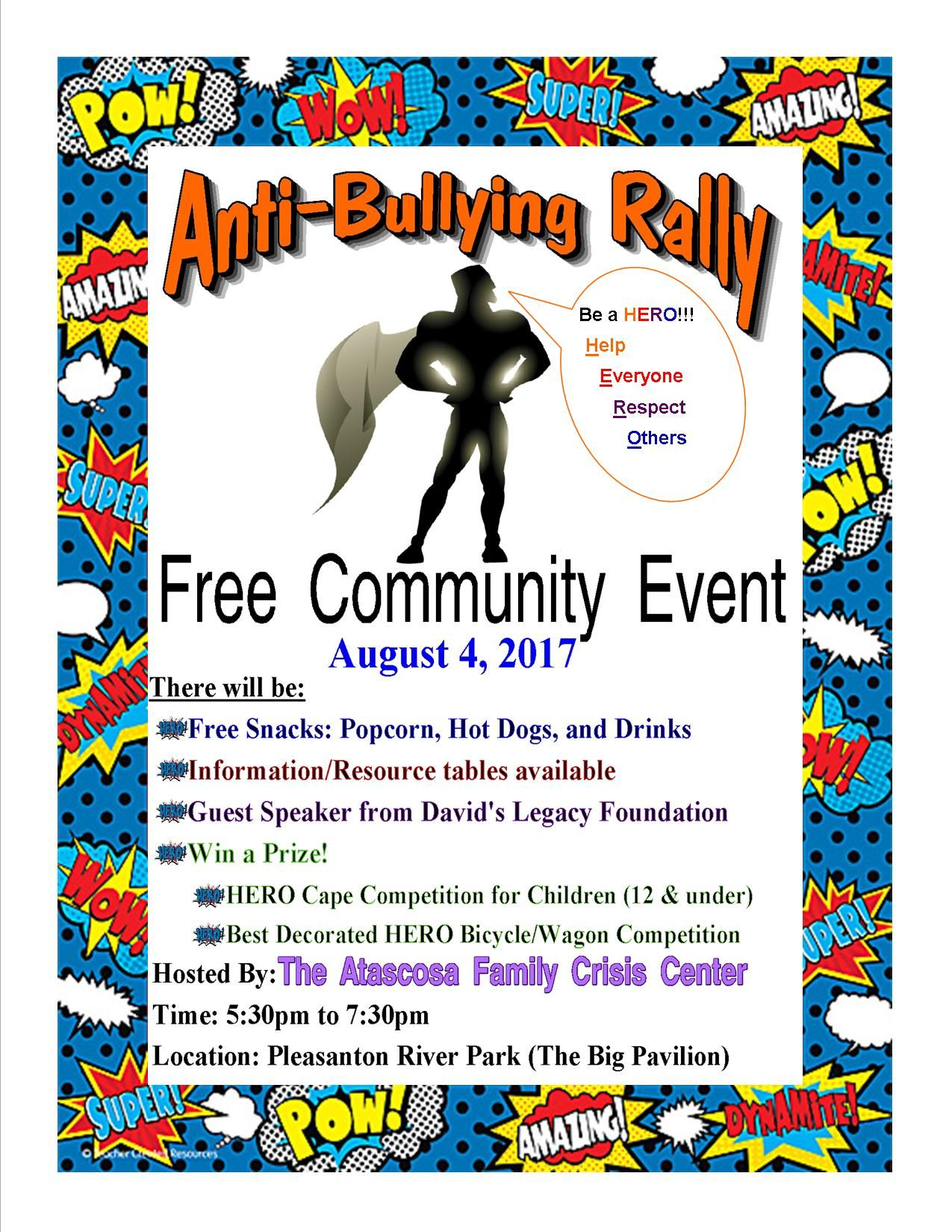 Anti Bullying Rally