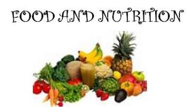 Resultado de imagen de food and nutrition