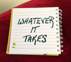 1-Whatever it takes