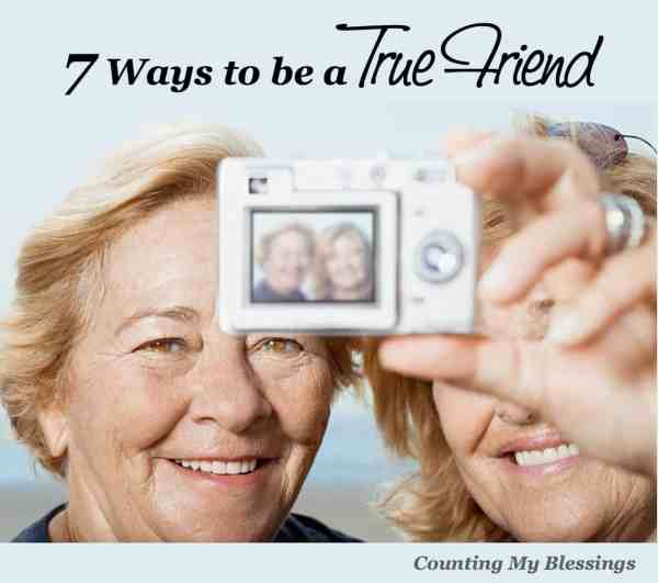 How to be a true friend and be still be true to yourself. You don't have to sell out yourself to have true friends.