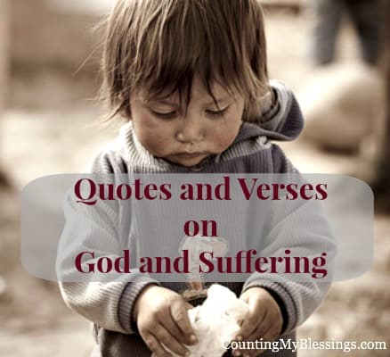 Quotes God and Suffering