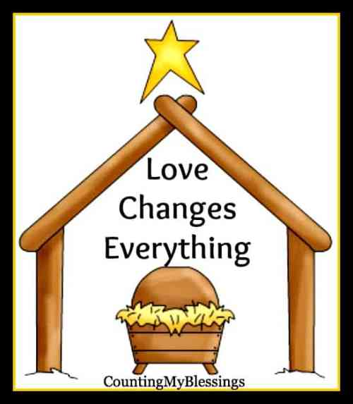 Love Changes Everything! Praising God for the gift of Love.
