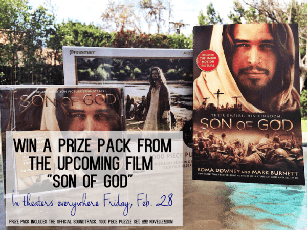 SON OF GOD - Prize Pack Graphic