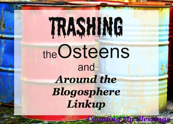 Before we trash the Osteens or anyone else, maybe we need to stop and think of ways to become more interesting ourselves...