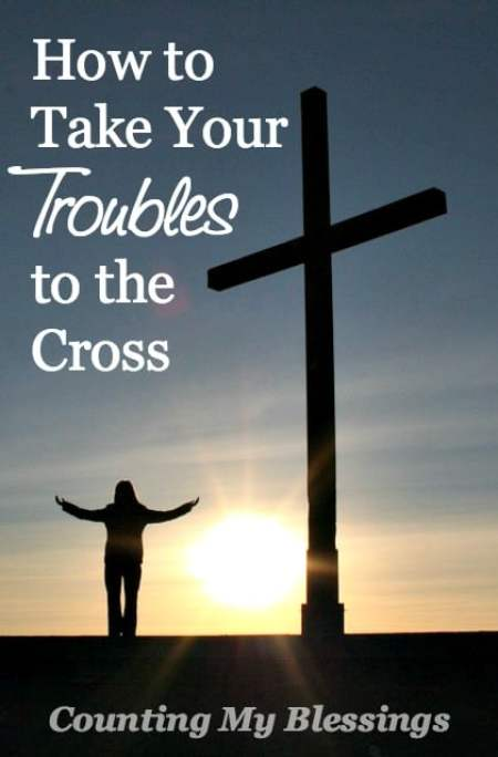 Do you give up something for Lent? Add something? Lent is all about walking to the Cross. Read this for 3 ways to find peace at the foot of the cross.