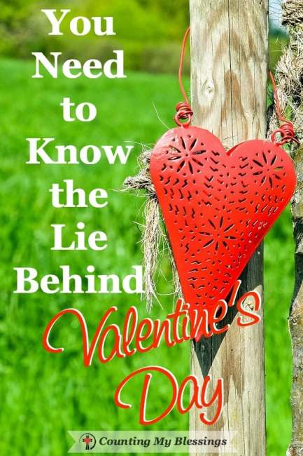 Do you know the lie behind Valentine's Day? No? Then you need to read this. Don't let the lie linger. It's time to trust the truth...