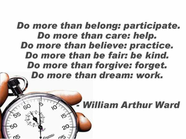 Teacher of truth... William Arthur Ward wrote words to inspire people toward freedom, optimism, and service. Here are some of his most provocative quotes.