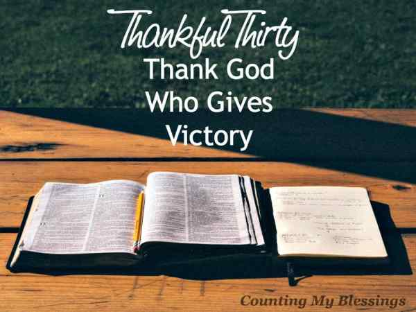 God has won every promised victory. Through His love He gives everything you need for victorious living. Get rid of fear and LIVE